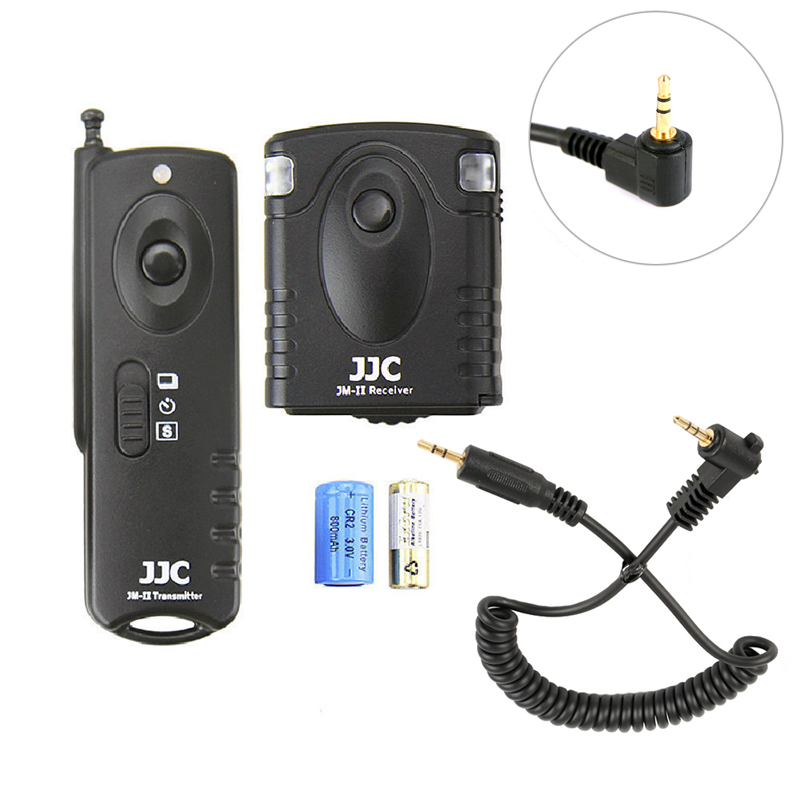 JJC Funkfernauslöser Anschluss kompatibel mit Olympus RM-CB2 OM-D E ...